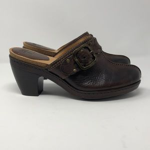 Frye Candice Woven Clogs